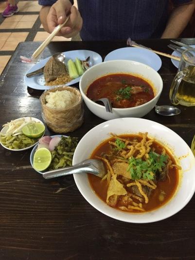 Le plat typique du Nord du Pays : le Khao Soi